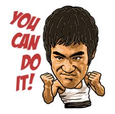 Bruce Lee Sticker New Emojis Gif Stickers For Free At 123emoji Com