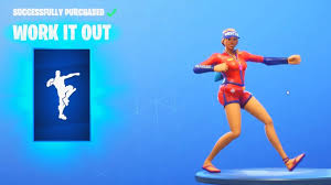 NEW* WORK IT OUT DANCE EMOTE (Fortnite ...