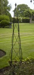 metal garden obelisks