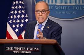 Kudlow inexplicably says virus ...