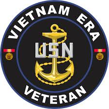 United States Navy Vietnam Era Veteran Decal