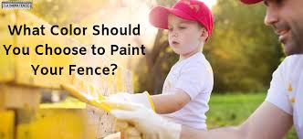 What Color Should You Choose To Paint Your Fence