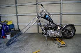 1957 harley panhead chopper pictures