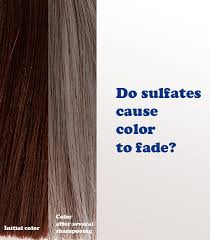 do sulfate shoos really strip color