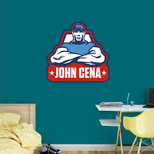 Fathead Wwe John Cena Logo Wall Decal 93 93048 John Cena Logo Wall Wall Decals