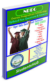 Download Full 2019 NDDC Scholarship Past Questions And Answers