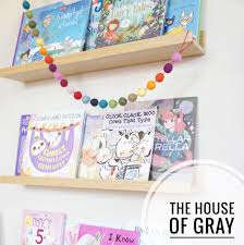 A Floating Bookshelf For A Kid S Room The House Of Gray