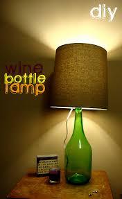 12 ways to make a wine bottle lamp