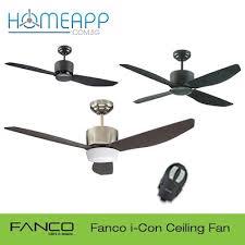 fanco i con ceiling fan 48 40 inch