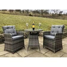 rattan outdoor 2 seat round garden