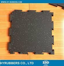 rubber flooring interlocking tiles