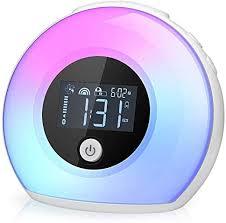 Amazon Com Yapeach Digital Alarm Clock Smart Kids Alarm Clock With Bluetooth Speaker Wake Up Night Light For Kids Wireless Led Night Lamp For Bedroom Living Room Home Desk Decor Home Kitchen