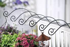 Metal Hanging Fence Railing Double Flower Plant Pot Holder