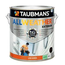 Taubmans All Weather Low Sheen Accent Exterior Paint 4l Accent