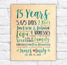 15th year anniversary