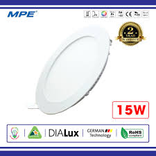 ĐÈN LED ÂM TRẦN TRÒN 15W MPE RPL-15 - Điện Việt