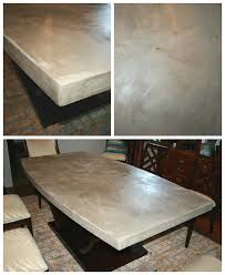 diy concrete table top chic and durable