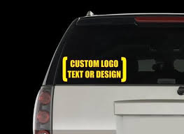 Custom Decal Create Your Own Decal Car Decal Laptop Decal Etsy