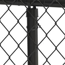 Blue Hawk 100 Pack Black Metal Fence Tie Chain Link Fence In The Fence Hardware Department At Lowes Com