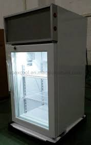 50l mini countertop display freezer