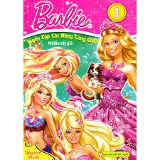 Sách - Barbie - Tuyển Tập Các Nàng Công Chúa (Tập 1)