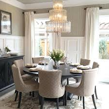 round dining table set for 6 marble