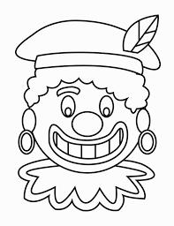 Kleurplaat Zwarte Piet Gezicht 2 Gratis Kleurplaten Om Te Printen