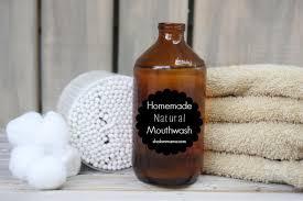 homemade natural mouthwash tiny