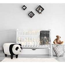 Critter Sitters Plush Panda Storage Animal Ottoman Furniture