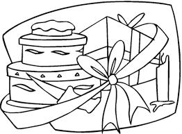 Verjaardagscadeau Kleurplaat Gratis Kleurplaten Printen