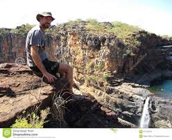 Mitchell Falls, Kimberley, West Australia Stock Image - Image of face,  fall: 61748701