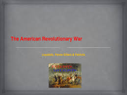 American Revolutionary War Key Figures Loyalists Fence Sitters Patriots