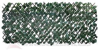 Windscreen4less Expandable Artificial Faux Ivy Leaf Leaves Privacy Fence Screen Decor Windscreen Amazon Co Uk Garden Outdoors