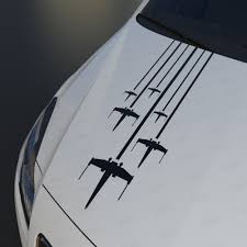 Rogue Squadron X Wing Hood Decal Star Wars Stickers