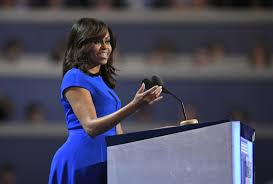 Opinion: Michelle Obama still going high when they go low - Los Angeles  Times