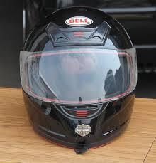 Bell Full Face Helmet W Harley Davidson Decals Medium Black Jolly Pack Rat Quality Second Hand Internet Store