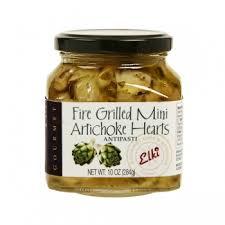 fire grilled mini artichoke hearts
