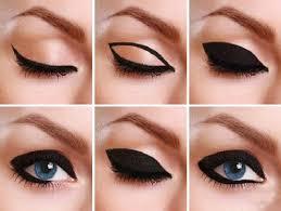 intense black eyeliner makeup look for