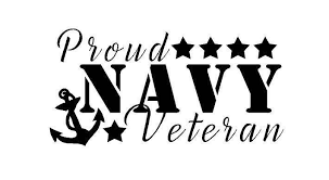 Proud Us Navy Sailor Veteran Decal Custom Vinyl Car Truck Window Sticker Navy Veteran Veteran Custom Decals