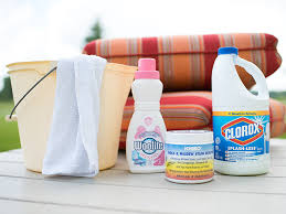 remove mold and mildew from fabric