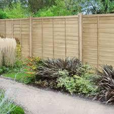 6ft High 1830mm Forest Pressure Treated Superlap Fence Panel Elbec Garden Buildings