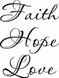 Faith Hope Love Bible Verse Vinyl Wall Decal By Scripture Wall Art 11 X 22 Ebay