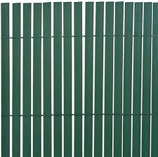 Tidyard Double Sided Garden Fence Pvc Screening Fence Privacy Fencing Screen 90x300 Cm Green Amazon Co Uk Kitchen Home