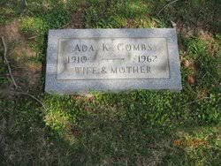 Ada Kelly Combs (1910-1962) - Find A Grave Memorial