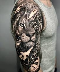 Lion tattoo ...