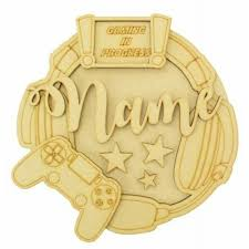Schilder Tafeln Nursery Play Room Child S Room Sign Personalised 3d Round Plaques Kids Bedroom Fiscleconsultancy Com