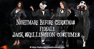 female jack skellington costume