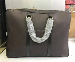 pu leather briefcase simple mens dandy