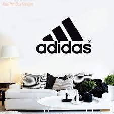 Adidas Logo Wall Decal Vinyl Sticker Krafmatics