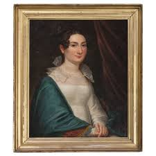 John Grimes (American, 1799-1837), Attr. Portrait of Lucy Smith Crittenden  Thornton (1802-1885) | Cowan's Auction House: The Midwest's Most Trusted  Auction House / Antiques / Fine Art / Art Appraisals